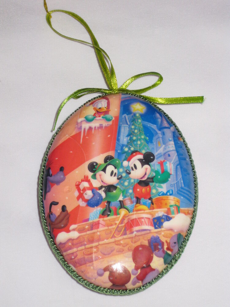 Disney Collectible Christmas Ornaments