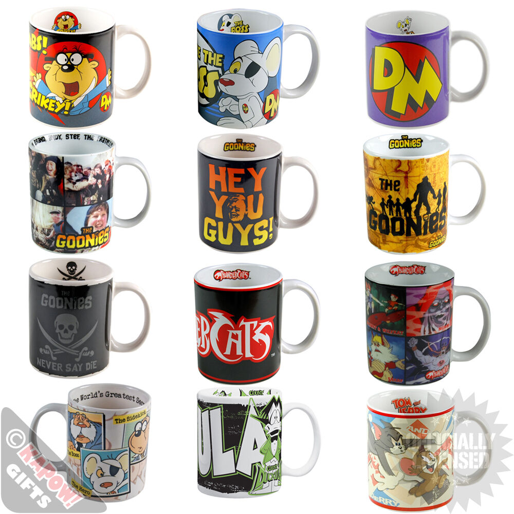 Funky retro mugs danger mouse thundercats great gifts retro televison ebay - Funky espresso cups ...