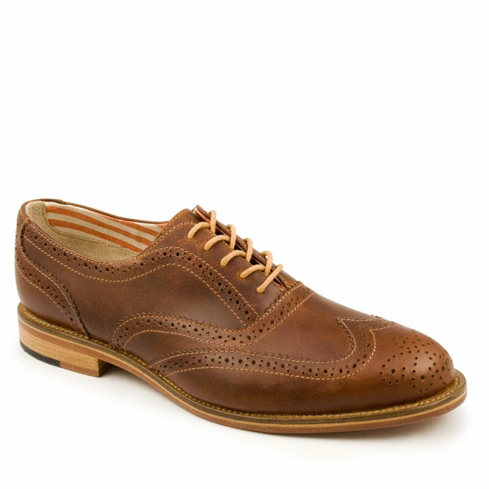 j shoes dress casual wingtip oxford brown