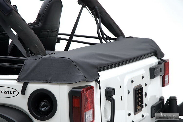 Smittybilt Soft Top Storage Boot Black For Jeep 07 2016