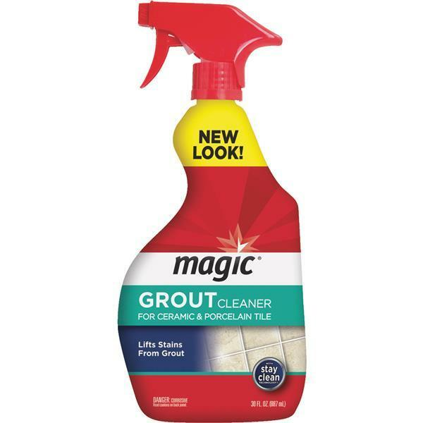 3 Pk 30 Oz Magic American Spray Grout Cleaner For Ceramic