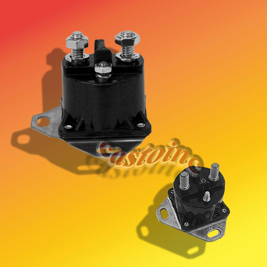 Lawn Mower Relay : Starter solenoid volt relay fits gravely