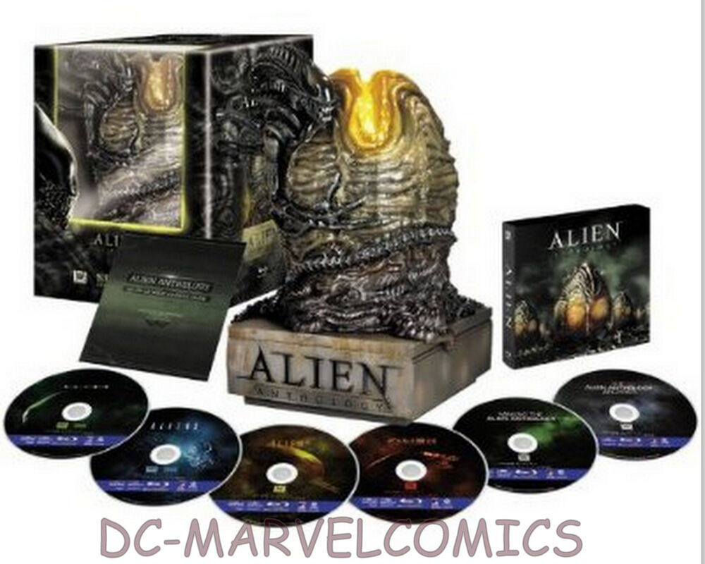 sideshow alien anthology egg bluray collectors edition