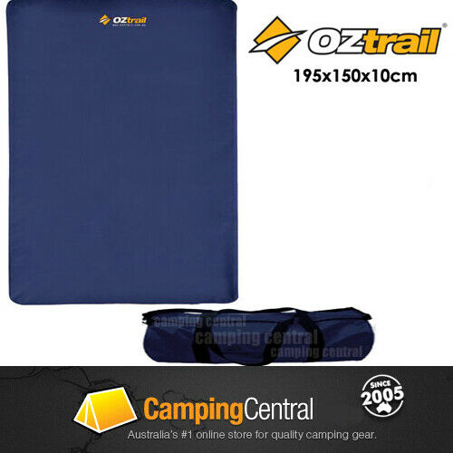 Oztrail Leisure Queen Mat Self Inflating Foam Mattress Air