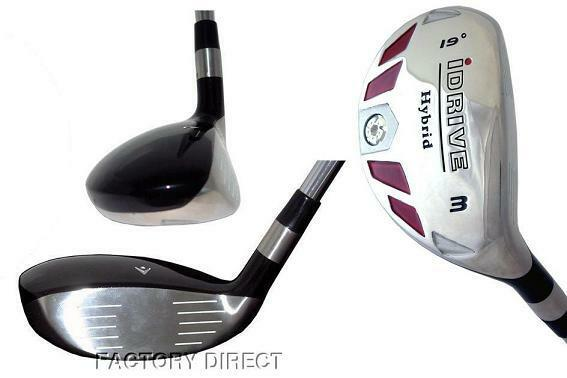 Details About Idrive Hybrid Made Regular Graphite Taylor Fit 3 Iron Wood Rescue 19 Golf Club