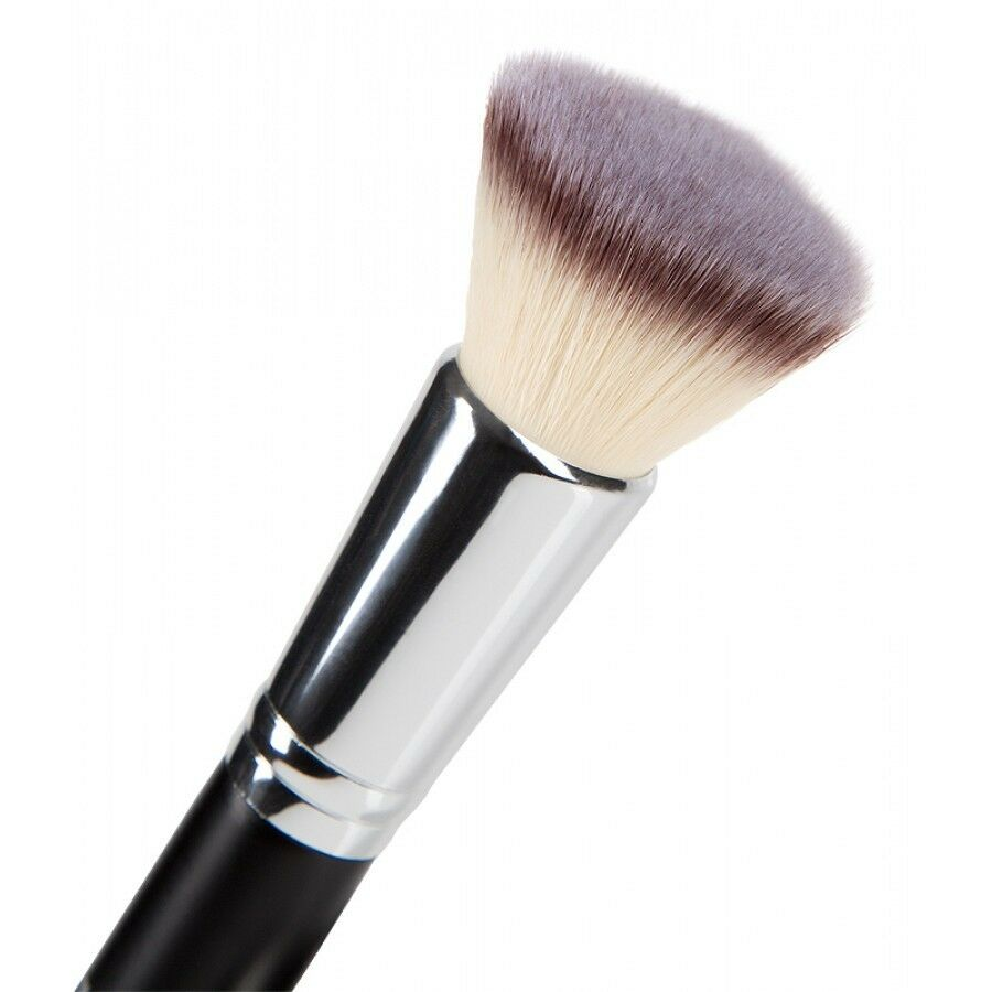 What is a flat top brush used for