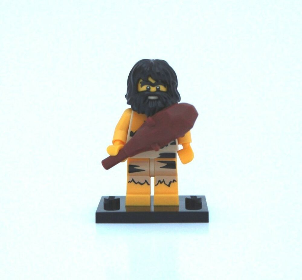 new lego minifigure series 1 8683 caveman ebay. Black Bedroom Furniture Sets. Home Design Ideas