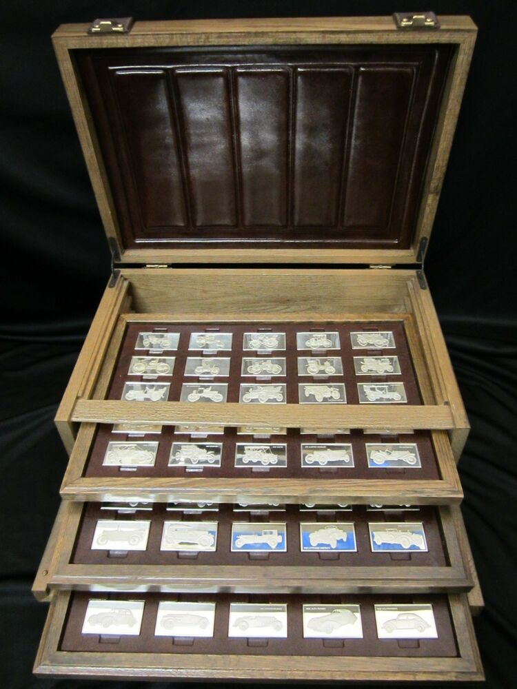 Franklin Mint Centennial Car Ingots Collection Sterling