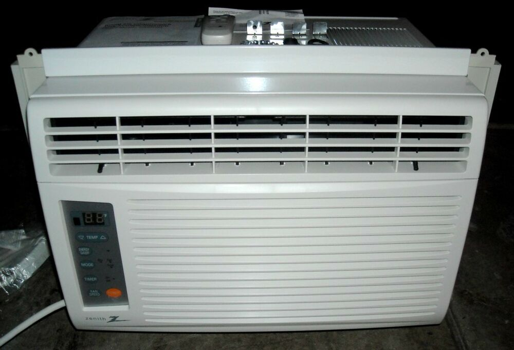 Zenith Window Air Conditioning Zw6500r 6 500 Btu Ebay