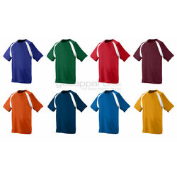 Kyпить Augusta Sportswear Men's Moisture Wicking Short Sleeve Color Block T-Shirt. 218 на еВаy.соm