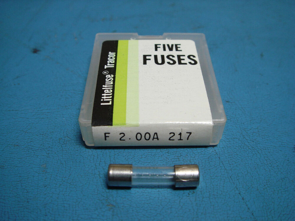 Littelfuse 217 F2 00a New Fuses 2a 250v Ebay