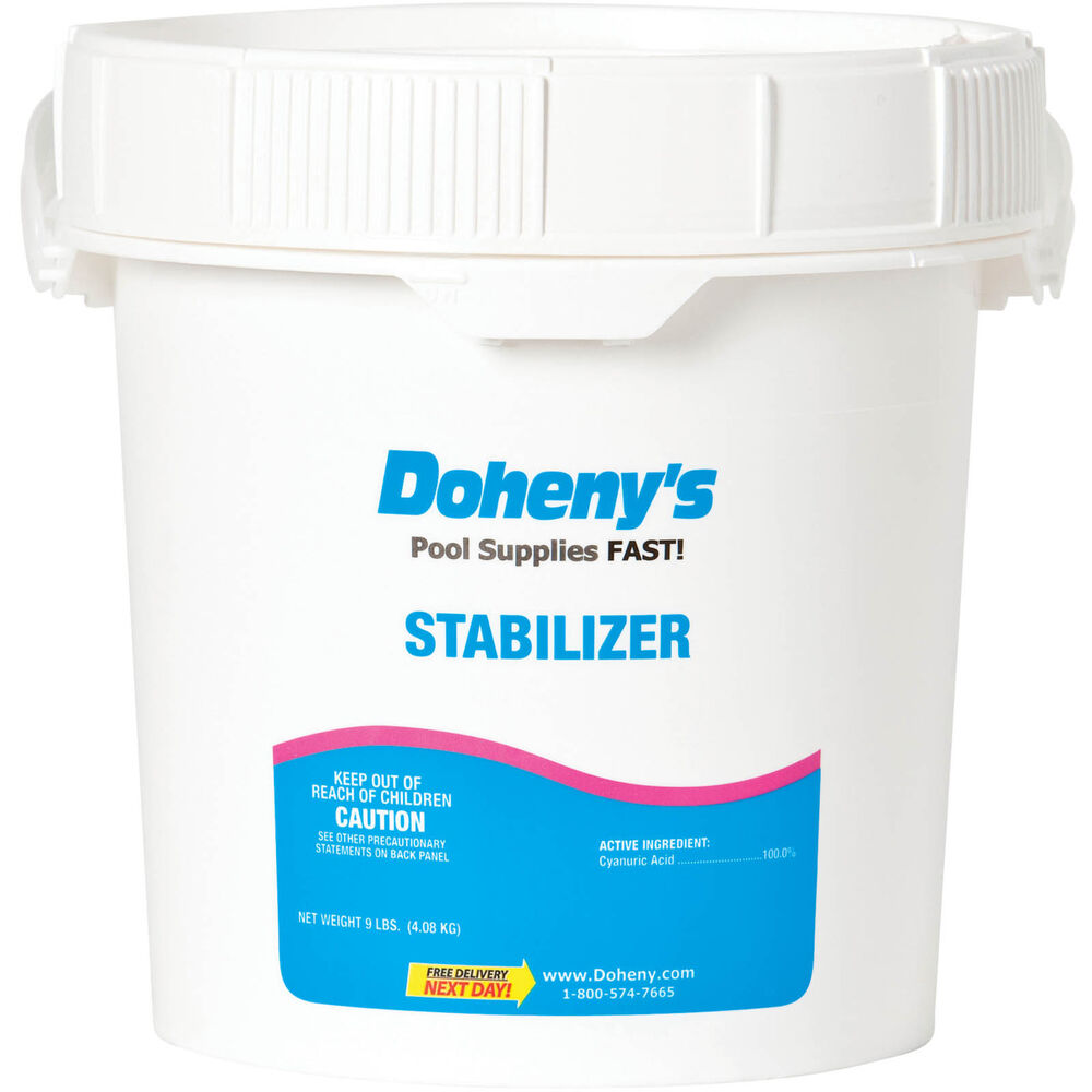 Doheny 39 S Pool Stabilizer Conditioner 9 Lbs Ebay