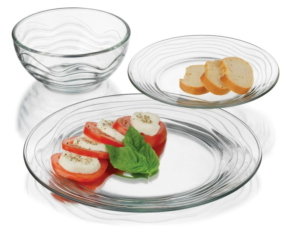Clear Glass Dinner Plates Uk