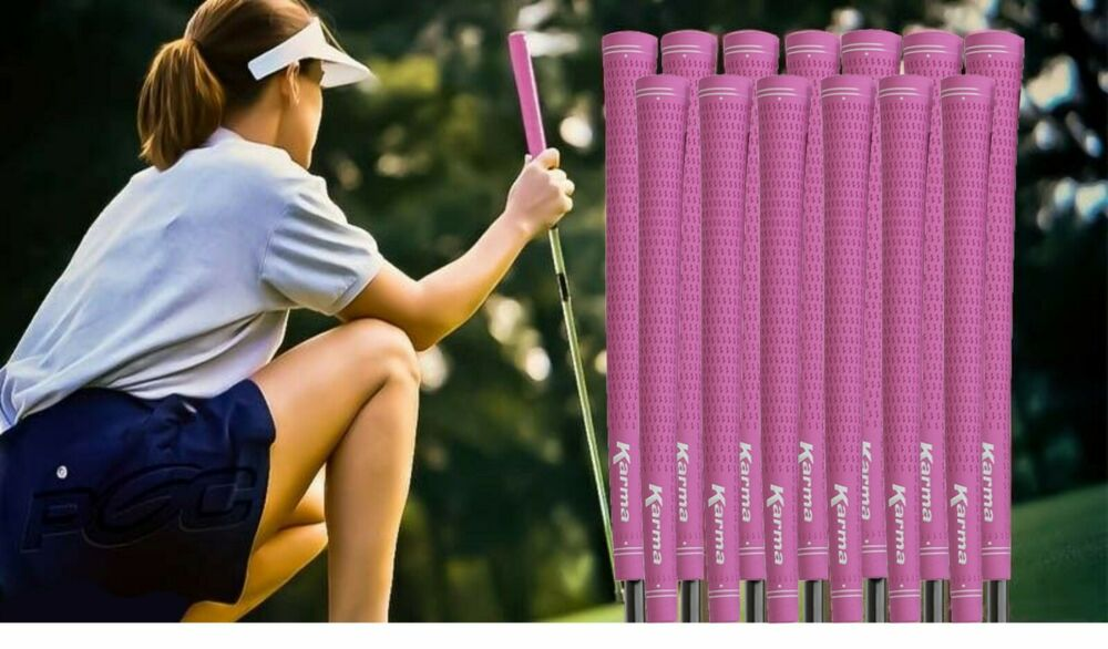 13 New Pink Womens Ladies Grips Golf Clubs Grip Driver