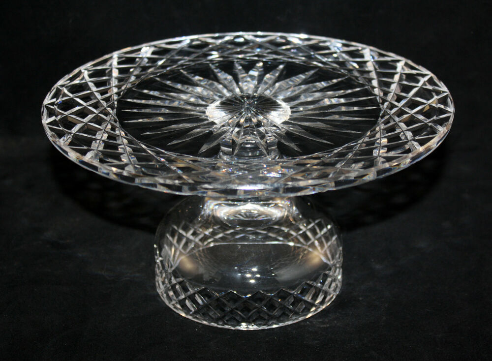 Waterford Crystal Cake Stand