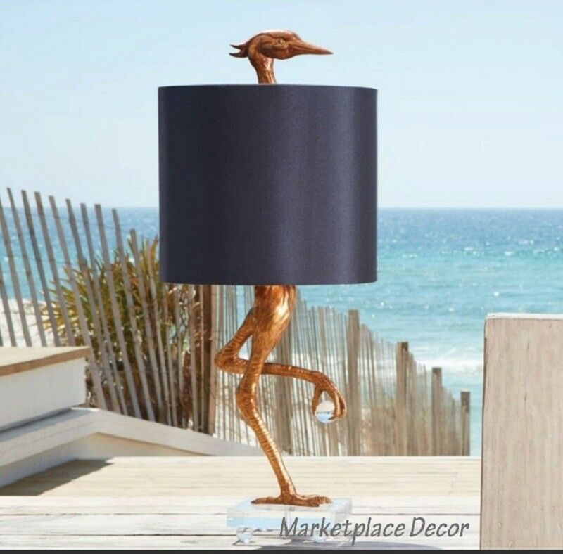 Ibis Table Lamp Heron Crane Bird Whimsical Table Lamp 35 Quot H