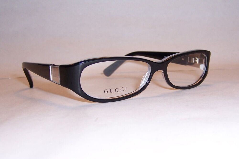 NEW GUCCI EYEGLASSES GG 3134 GG3134 EOF BLACK 54mm RX ...