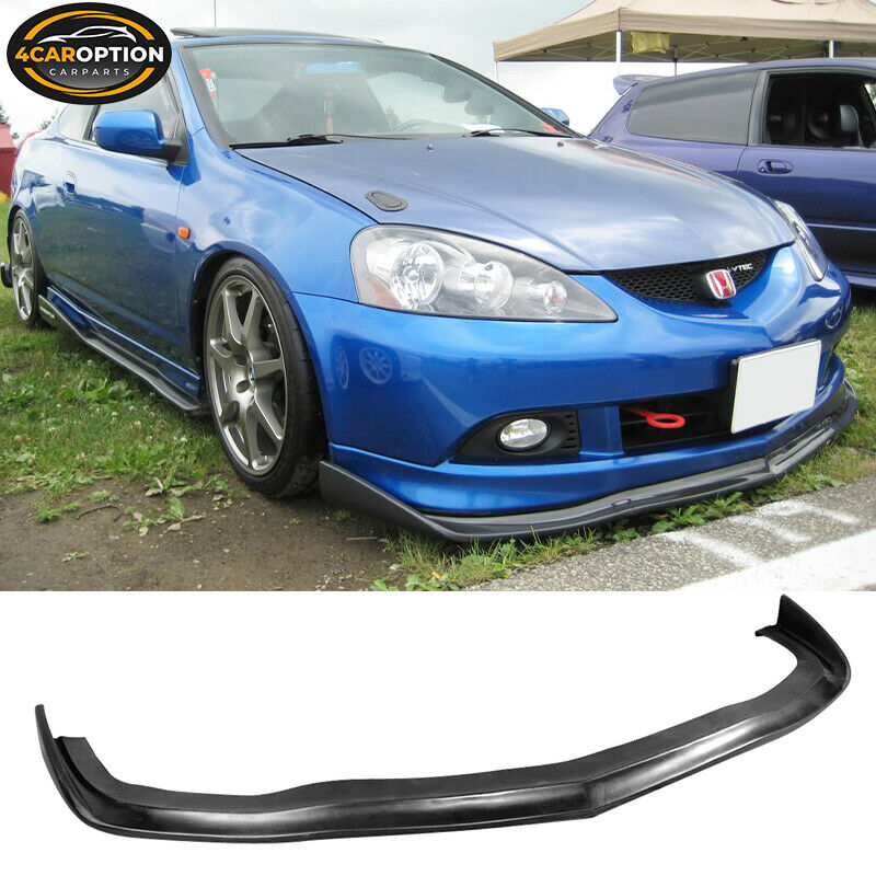 05-06 Acura RSX CS Style Poly Urethane PU Front Bumper Lip