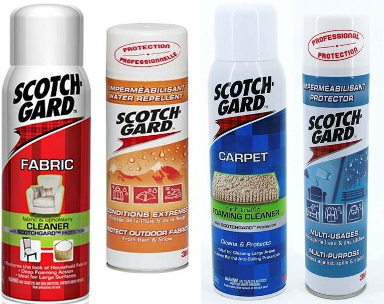 scotchguard scotch gard guard 3m fabric carpet rug outdoor upholstery cleaner ebay. Black Bedroom Furniture Sets. Home Design Ideas