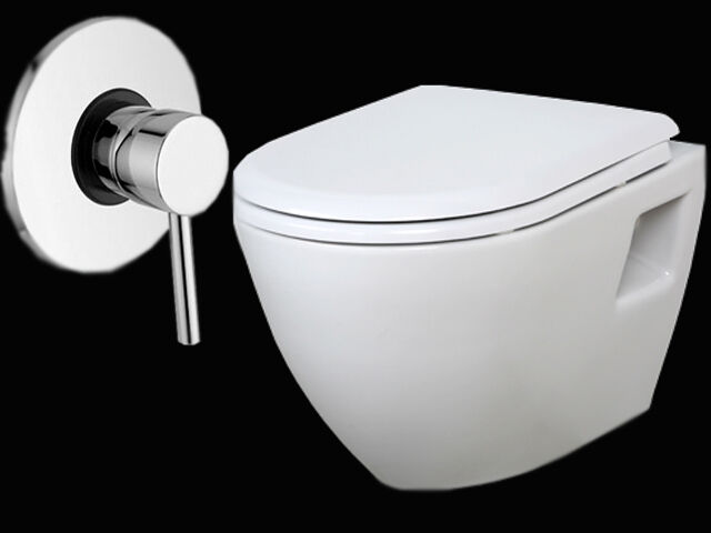 h nge dusch wc tp325 mit unterputz armatur taharet bidet mit soft close deckel ebay. Black Bedroom Furniture Sets. Home Design Ideas