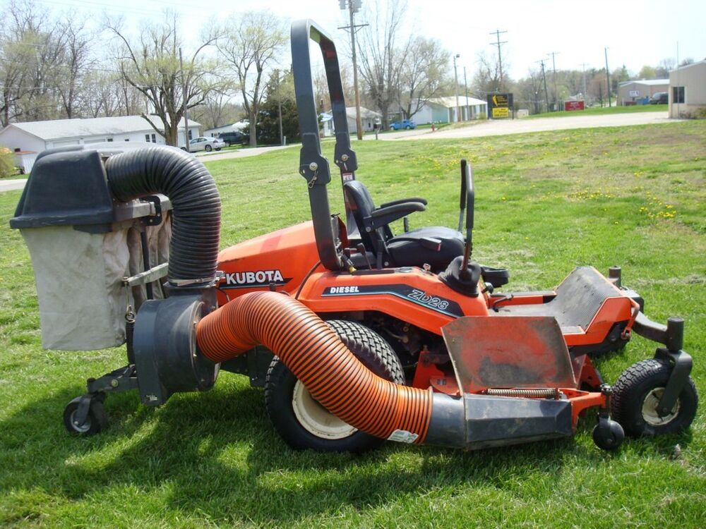Lawn Mower Diesel : Kubota zd zero turn riding lawn mower inch