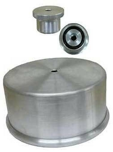 """Dominator Carburator Carb Cover Hat & 1/4"""" Nut Combo"""