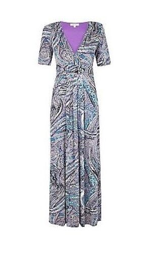 new marks and spencer mamps per una paisley print maxi dress