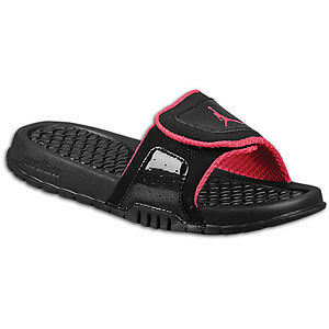 904e64d118f1 ... EUC 12 TODDLER GIRLS NIKE AIR JORDAN JORDANS HYDRO II BLACK PINK SANDALS  eBay ...