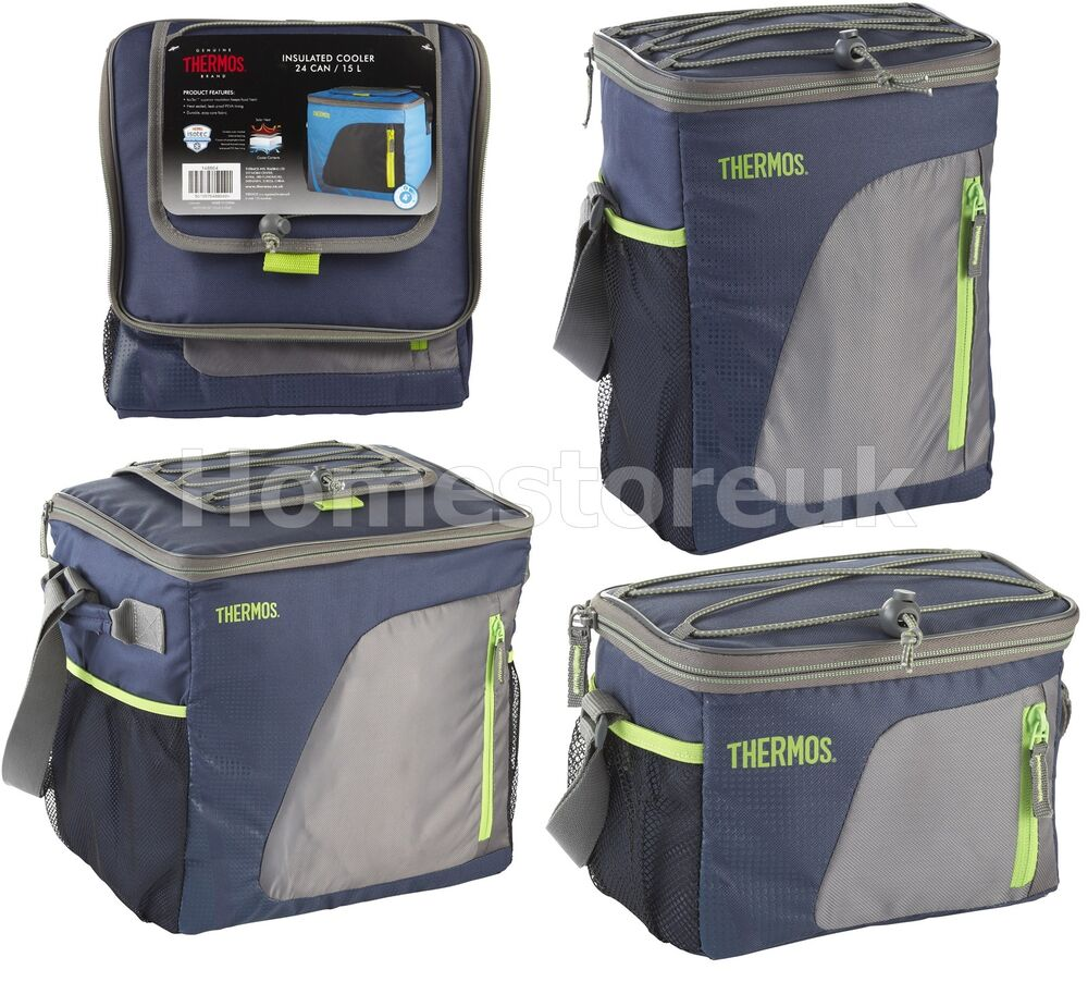 Genuine Thermos Cooler Cooling Navy Bag Cool Box Insulated