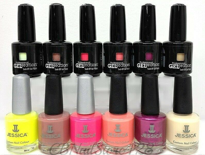 Jessica - GELeration + Nail Lacquer DUO 15ml/.5oz - Pick your color ...