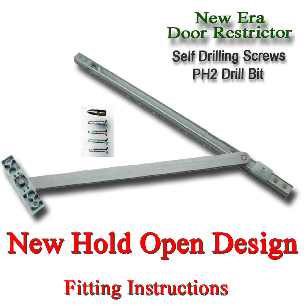 Door Restrictor 90 To 130 Degree Upvc Arm Stay Hold Open