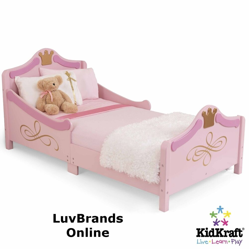 Kidkraft Princess Toddler Cotbed Junior Girls Bed Pink New