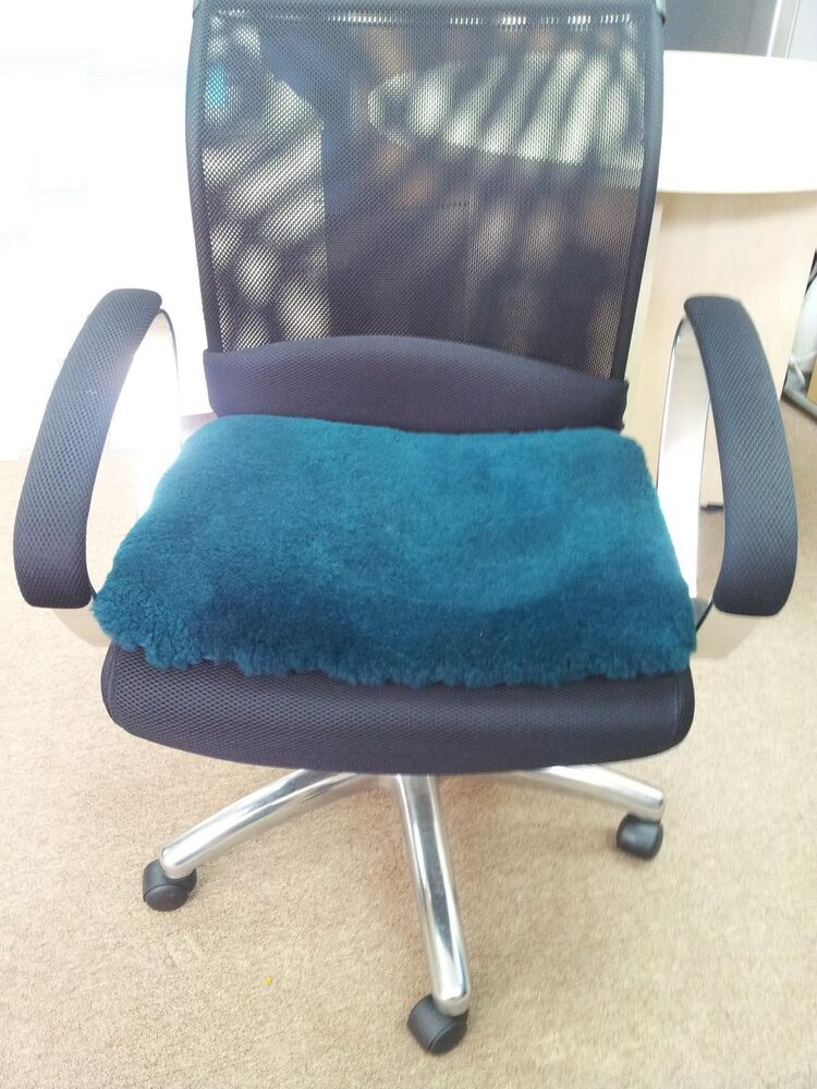 Natural Medical Grade Sheepskin Chair Booster Office Seat
