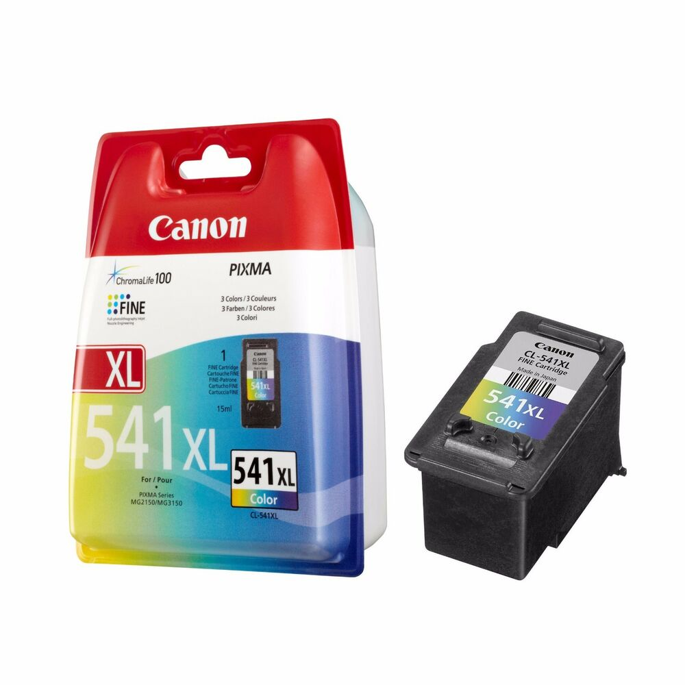 1x original genuine canon cl541xl colour high capacity ink. Black Bedroom Furniture Sets. Home Design Ideas