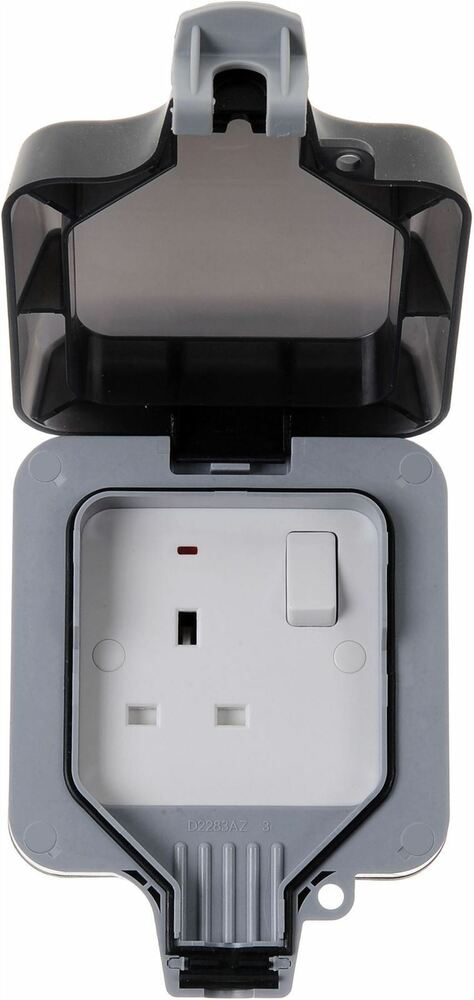 Masterplug Wp21 13a Weatherproof Outdoor Switched Socket