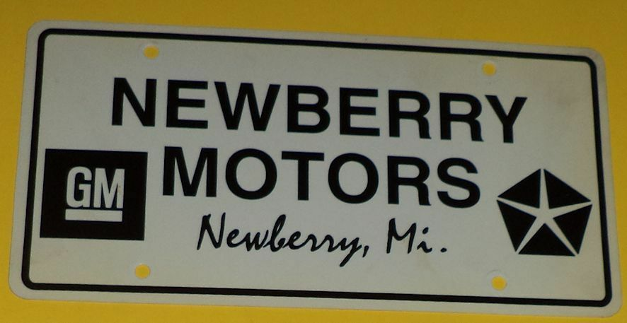 newberry motors gm newberry mi dealer plastic new car