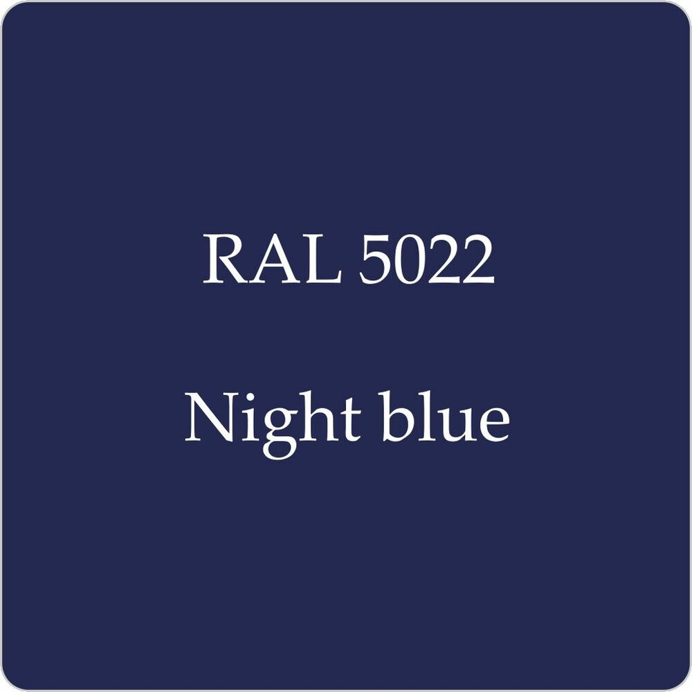 ral 5022 cellulose car body paint night blue 1l with free