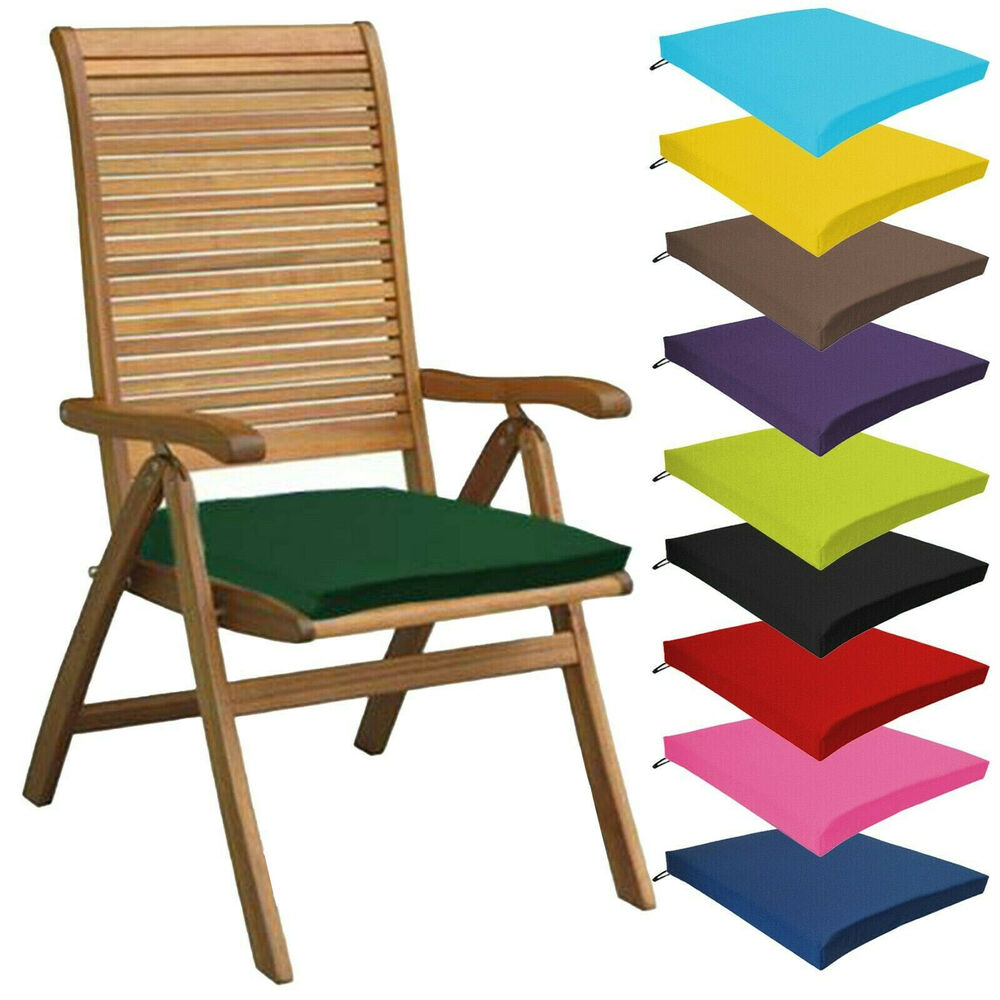 outdoor seat cushions multipacks outdoor waterproof chair pads cushions only 28508