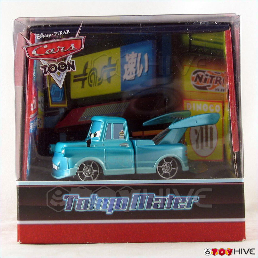 Disney Cars Toon Tokyo Mater With Lights Exclusive Comic