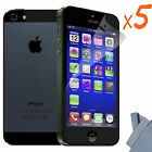 5x Newest HD Clear LCD Screen Protector Cover Guard For Apple iPhone 5 5th 5 Gen