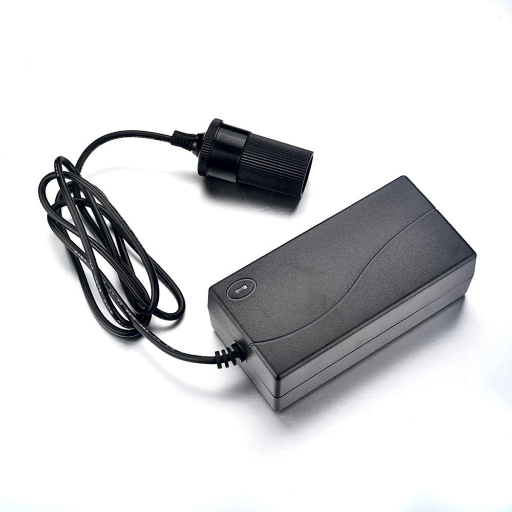 Wall ac to dc 12v car cigarette lighter adapter plug 7