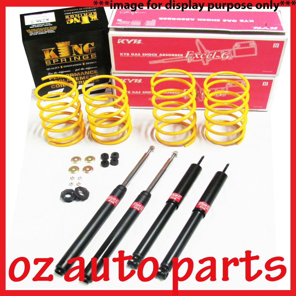 TOYOTA RAV4 SXA11R 1998 2000 30MM LIFT KYB SHOCKS & COIL