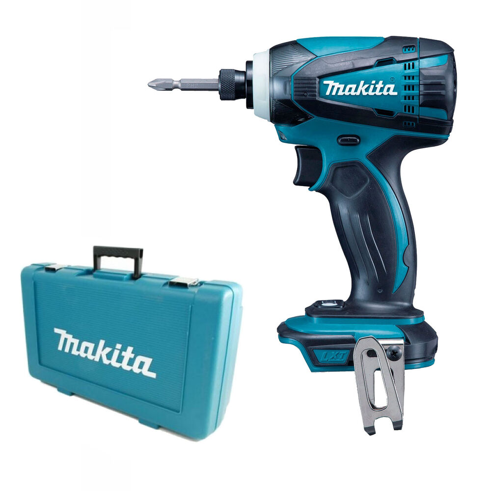 makita 18v lxt btd146 btd146z impact driver and plastic case dtd152z 5060344410380 ebay. Black Bedroom Furniture Sets. Home Design Ideas