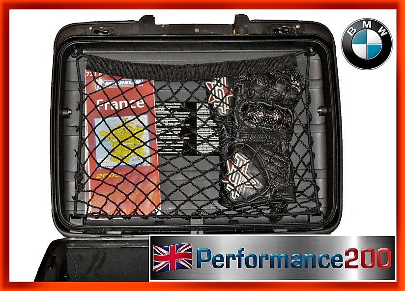 Custom Made Cargo Net For Vario Top Box Side Case