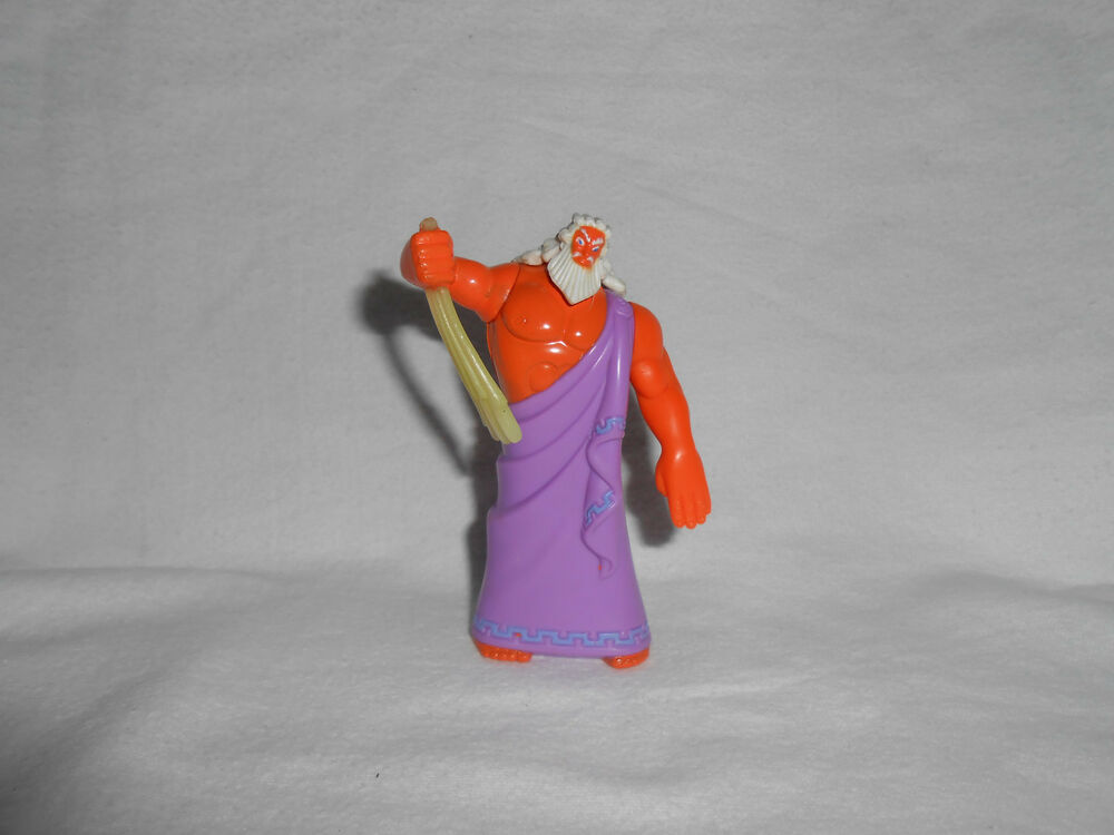 hercules summary_1996 McDonalds Disney HERCULES - ZEUS 3.75 Figure Happy Meal Toy #2 | eBay