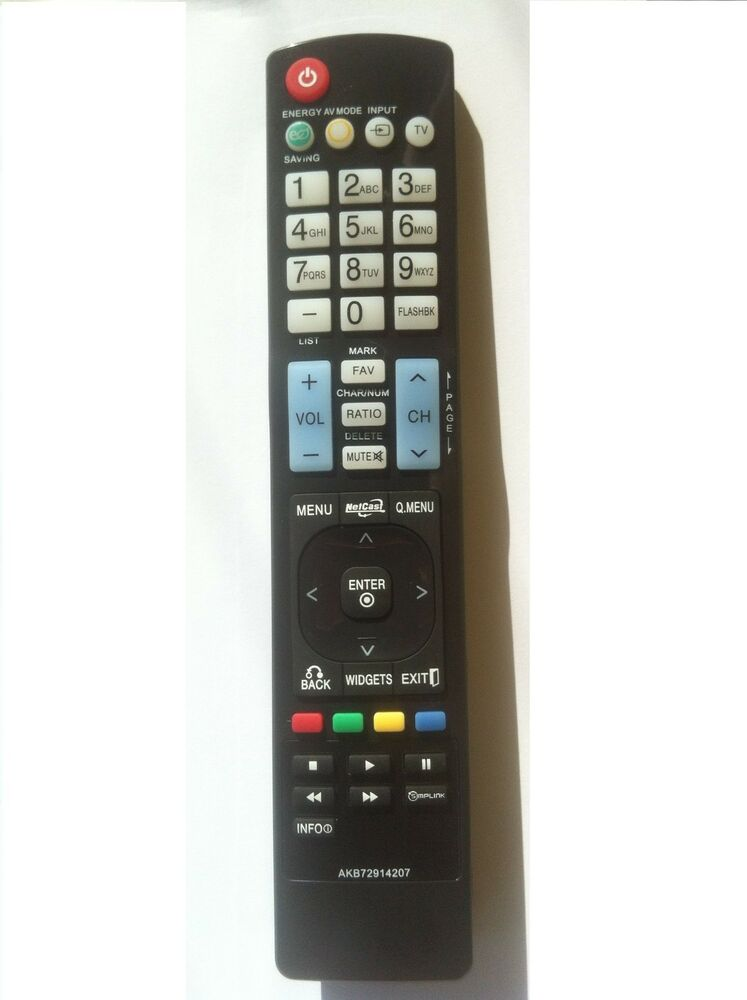 New Akb72914207 Replace Remote Fit For Lg Akb72914003