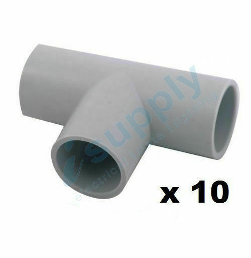 Pvc For Electric : Electric pvc straight conduit t junction mm electrical