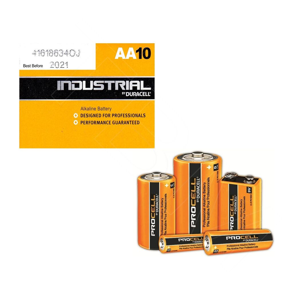 Duracell Procell Professional Aa Aaa C D 9v Alkaline