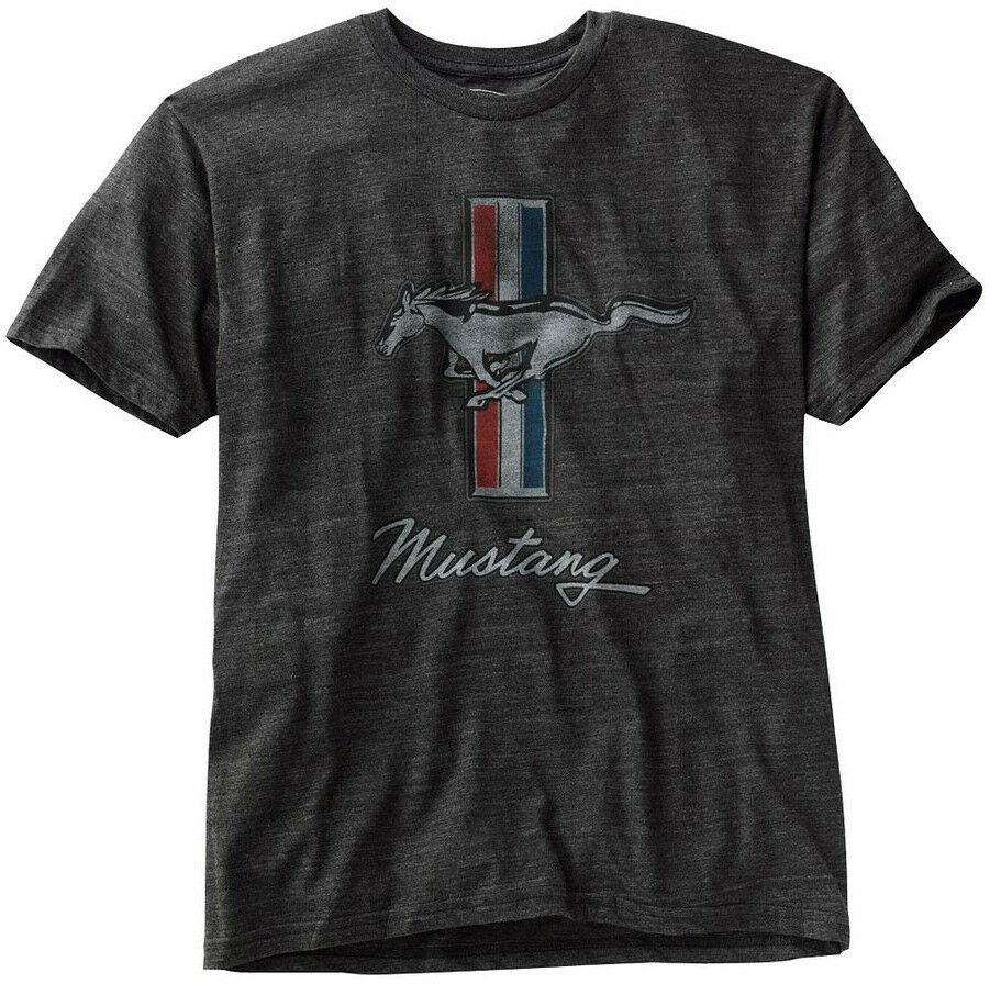 official licensed merchandise ford mustang tribar tri bar gt s tee t shirt bnwt ebay. Black Bedroom Furniture Sets. Home Design Ideas