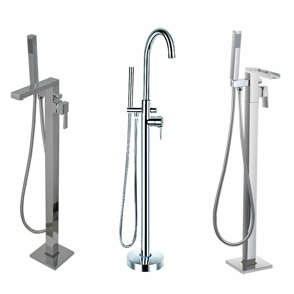floor standing bath shower mixer tap for use with hudson reed tec floor standing bath shower mixer